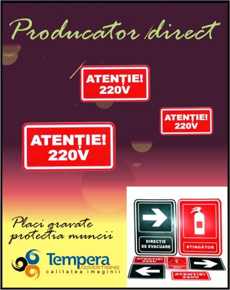 Placi gravate protectia muncii